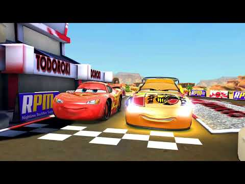 Lightning Mcqueen Lost To Miguel Camino Disney Pixar Cars Racing Game Play