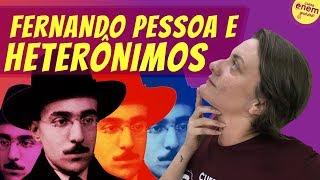 HETERÔNIMOS DE FERNANDO PESSOA   Resumo De Literatura Para O Enem