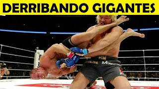 Top 10 Peleas Más Injustas: David Vence a Goliat