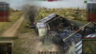 World Of Tanks - Эпичный момент. а-43.