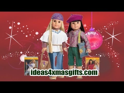 Christmas Gift Ideas 2013 for Girls   American Girl Julie & Ivy Best Friends Collection doll set