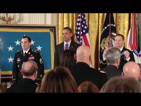 Medal of Honor Ceremony for Staff Sergeant Clint Romesha – Psalm 23