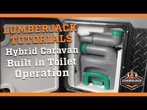 Hybrid Caravan Toilet Operation