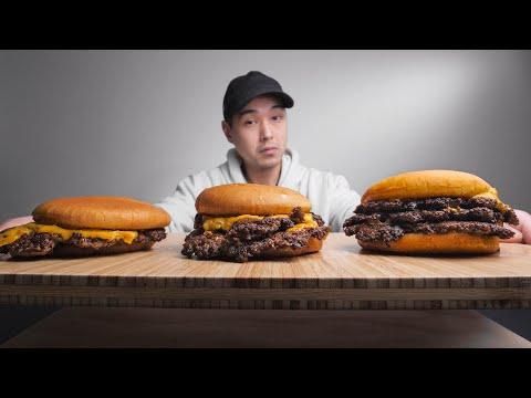 SINGLE Smashburger vs DOUBLE Smashburger vs TRIPLE Smashburger