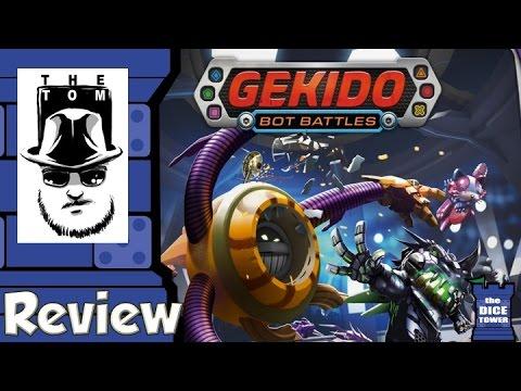 Gekido: Bot Battles Review - with Tom Vasel