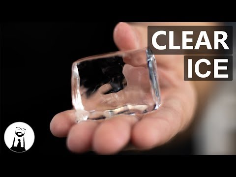 How to Make Clear Ice for Drinks