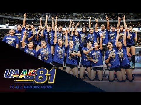UAAP 81 Women's Volleyball Awards   May 18, 2019