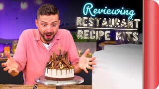 Reviewing DIY Restaurant Recipe Kits