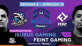 Isurus Gaming VS Feint Gaming | Jornada 14 | Liga Master Fibertel 2019
