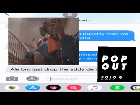 Polo G ft  Lil TJay - Pop Out (Lyrics) - Rap City - Video