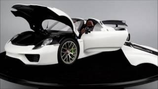 AUTOart Porsche 918 Spyder with Weissach Package