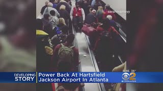 Power Outage Shuts Down Atlanta Airport