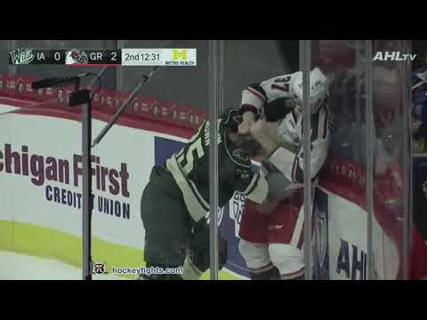 J.T. Brown vs Evgeny Svechnikov