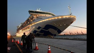 Japan cruise ship virus cases jump to 218 - VIDEO