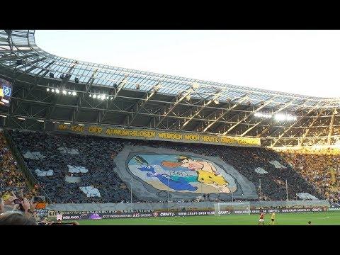SG Dynamo Dresden vs Hamburger SV / 18.09.2018 / 0:1