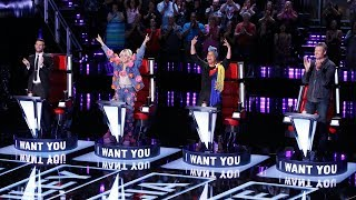 First time on the voice the fastest 4 Chairs Turn | The Voice Best Blind Auditions