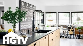 HGTV Urban Oasis 2019 - Tour The Kitchen And Living Room