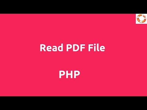 Read PDF File In PHP Mp3