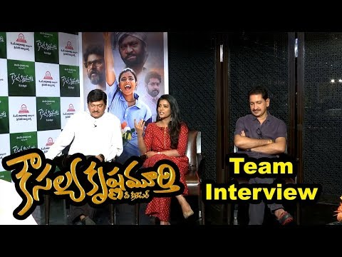 Kausalya Krishnamurthy Movie Team Interview