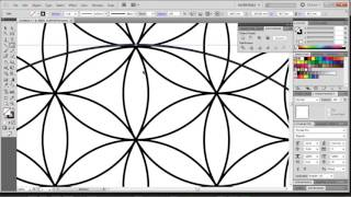 How To Draw The Flower Of Life Digitally With Adobe Illustrator The Easiest Way!