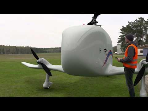 Беспилотный гирокоптер для доставки тяжелых грузов