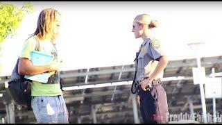 Flirting With Very Nice American Female Officer In Norwegian