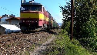 preview picture of video 'Zamračená/Bardotka 751.131-4 (bez tlmiča) @ Prievidza - akcia so Zamračenou do Veľkých Bielic 2014'