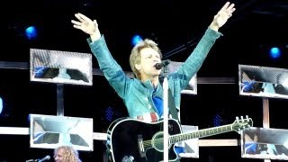 Bon Jovi - Intro & That's What The Water Made Me (Live - Etihad Stadium, Manchester UK, June 2013)
