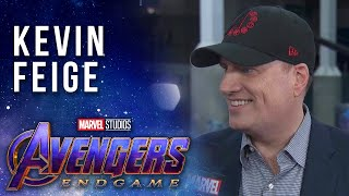 Kevin Feige talks the expansive MCU LIVE at the Avengers: Endgame Premiere