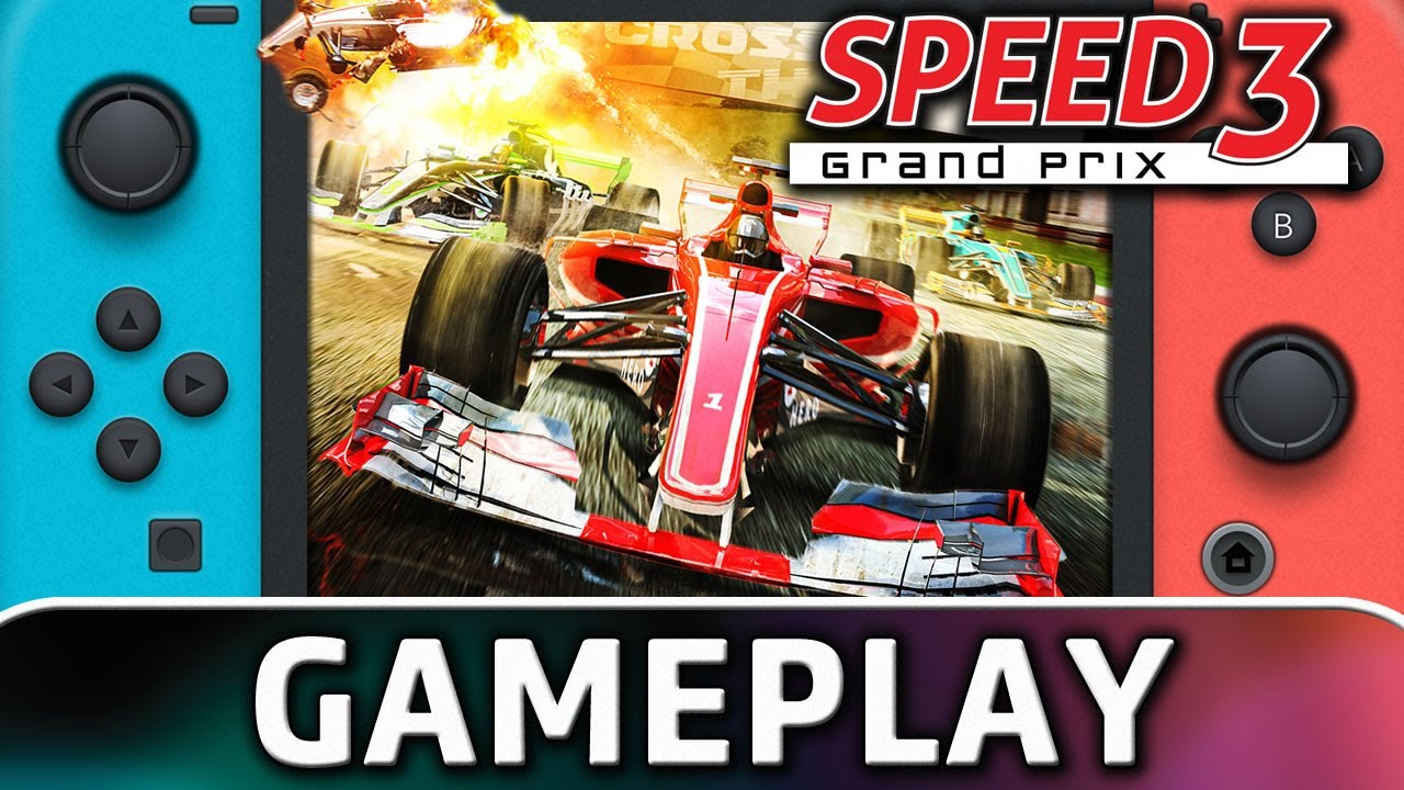 Speed 3: Grand Prix | Nintendo Switch Gameplay