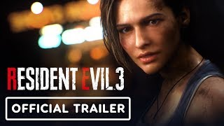 Resident Evil 3 Remake Official Announcement Trailer