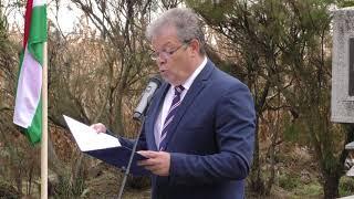 Megemlékezés a tiszalöki hadifogolytábor áldozatairól