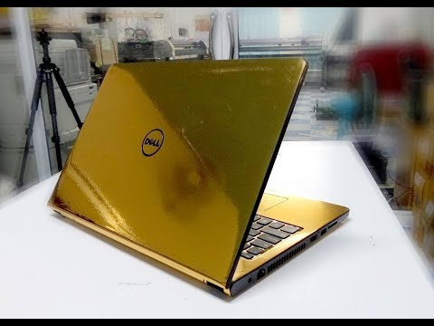 Gold Notebook Sticker Skin