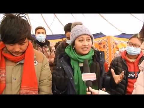 Students on hunger strike demanding sixth schedule for Ladakh