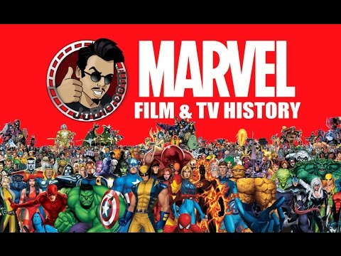 The History of Marvel Film and Television (2015) Superhero Movie HD
