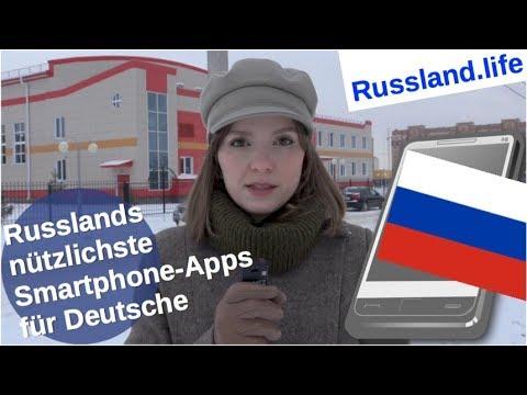 Russlands nützlichste Smartphone-Apps für Deutsche [Video]