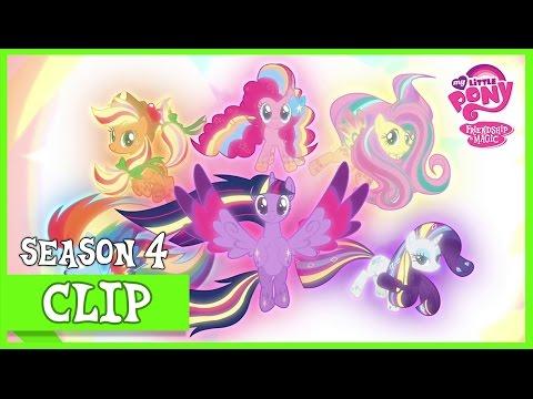 The Mane 6 Defeat Tirek (Twilight's Kingdom) | MLP: FiM [HD] (видео)
