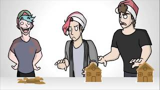 CAN WE HIT 1 BILLION LIKES - Animated Gingerbread House Building