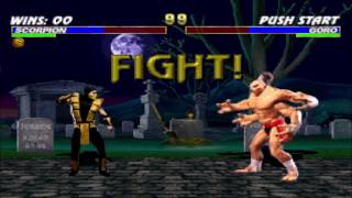 Scorpion vs Goro Double Flawless HD