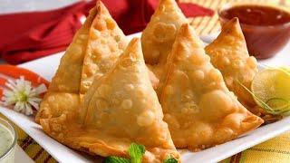 Aloo Samosa Recipe • How To Make Samosa • Potato Samosa Recipe •Vegetable Samosa Recipe • Somosa