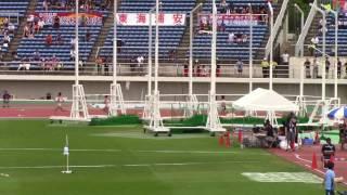 2017 山形インターハイ陸上 日本高校新記録 女子800m決勝