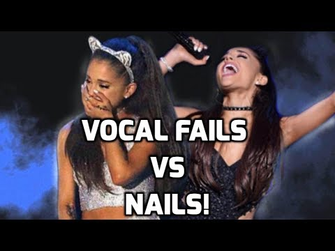 Ariana grande  worst vs best vocal moments