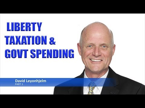 David Leyonhjelm Part 1: Liberty, Taxation & Government Spending