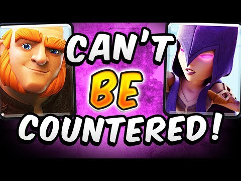 UNDEFEATED! NEW WITCH DECK CAN'T BE COUNTERED!  — Clash Royale