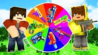 SİLAH ÇARK ÇEVİRME OYNADIK! 😱 - Minecraft
