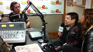 Entrevista a Dilbert Aguilar y Claudia Portocarrero en NuevaQ