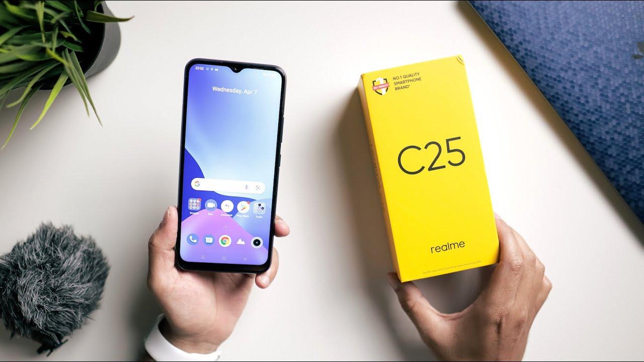 Realme C25 Key Specs Overview