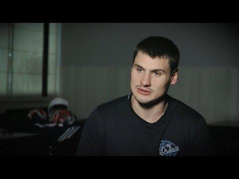 Дмитрий Орлов - обладатель Кубка Стэнли - на льду «Морозово»