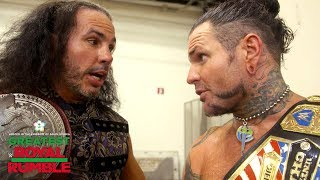Brother Nero is surprised by his
