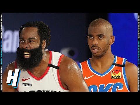 Houston Rockets vs Oklahoma City Thunder – Full Game 3 Highlights | August 22, 2020 NBA Playoffs